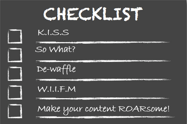 4 rules for writing amazing content